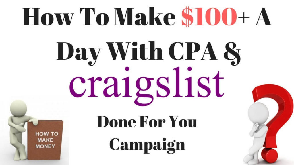 Make Money Craigslist And CPA