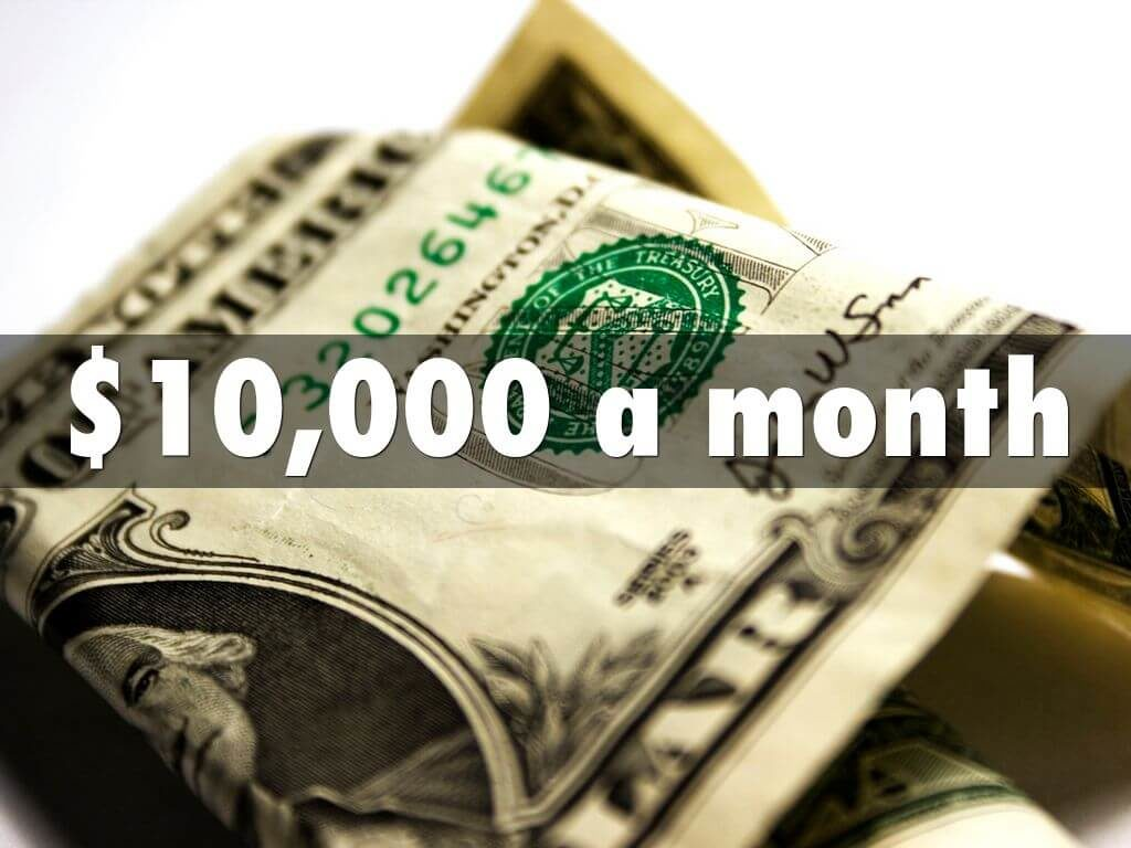 $10,000 A Month For Beginners