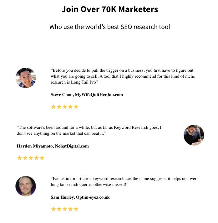 LongTailPro Reviews